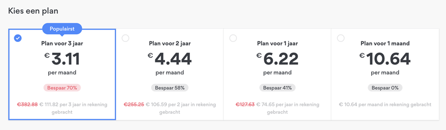 NordVPN pricing and packages