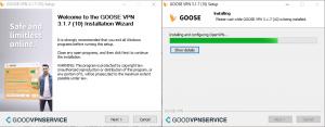 Installing GOOSE VPN