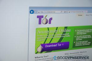 Tor Browser screenshot
