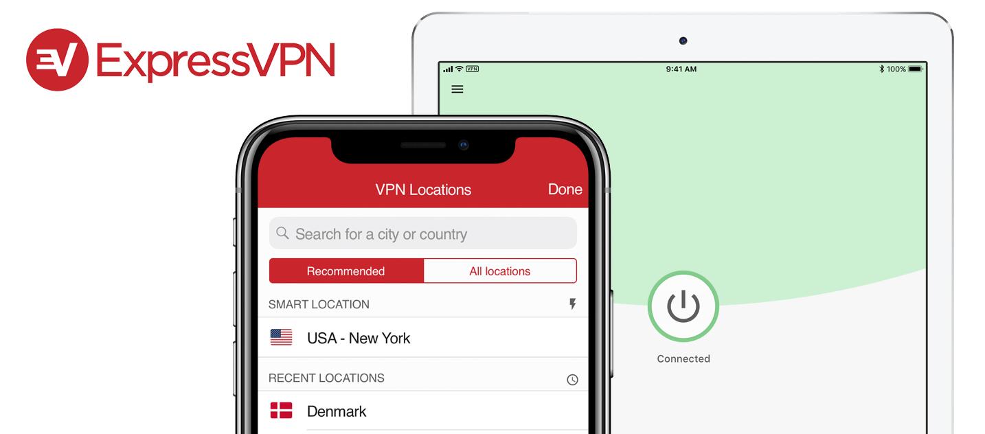 ExpressVPN iOS app