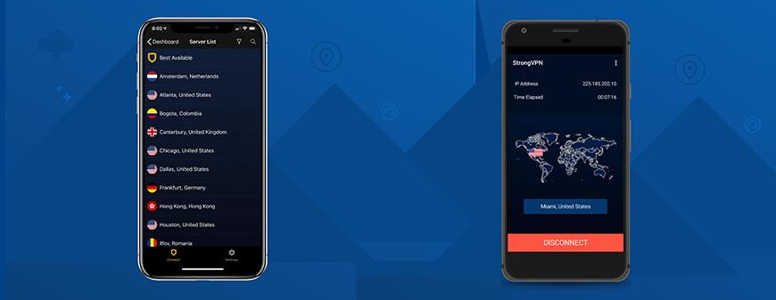 StrongVPN review mobiel